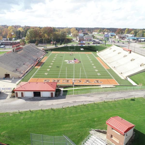 Mansfield Senior High Tygers - Mansfield, Ohio