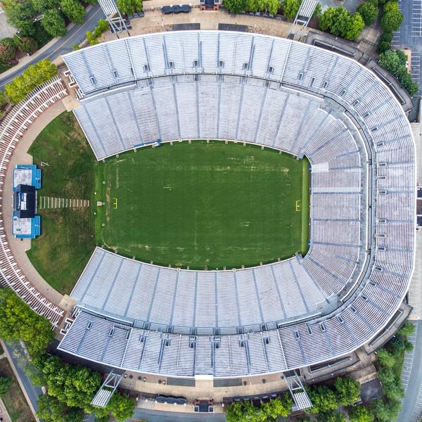 Scott Stadium, University of Virginia