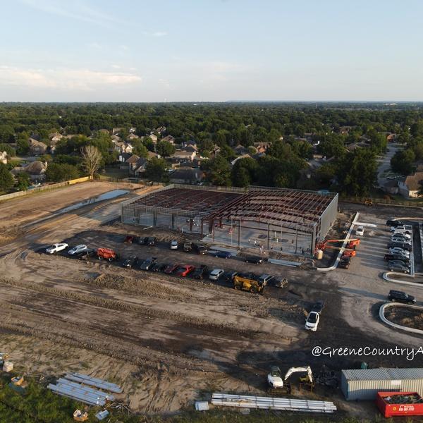 Construction Progress - Oblique