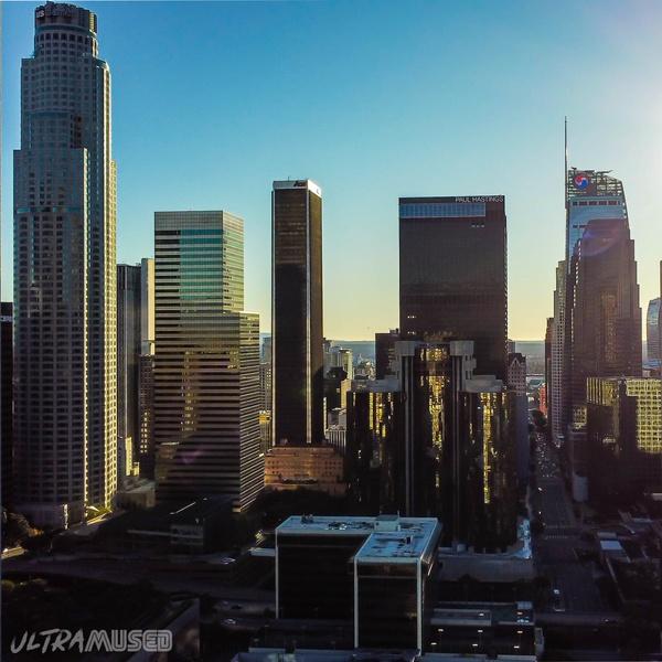 DTLA above Figueroa