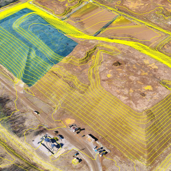Topo derived from Drone photogrammetry
