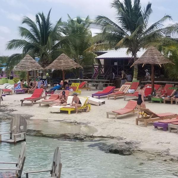 Secret Beach - San Pedro, Belize