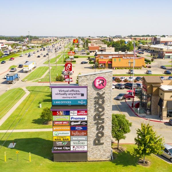PostRock Shopping Center - Tulsa, OK (Sign)