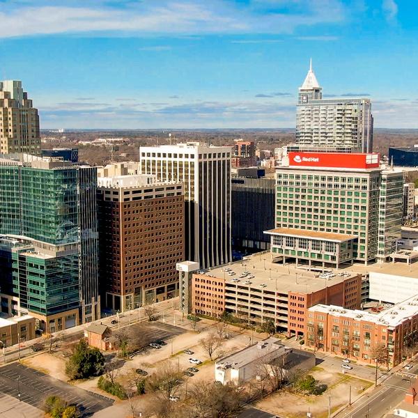 Raleigh, NC Skyline