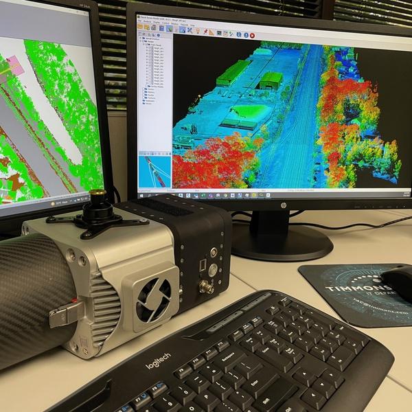 LiDAR, Surveying & Mapping via Timmons Group