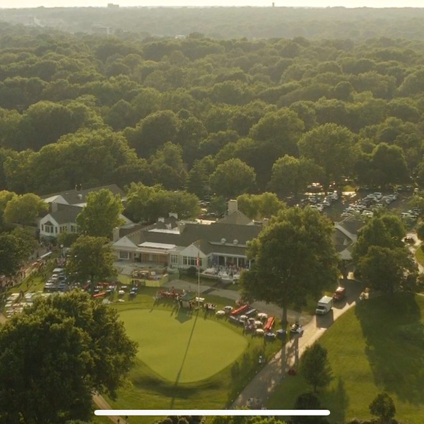 Kansas City Country Club Aerial
