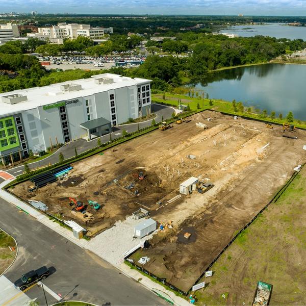 Construction Site Progression