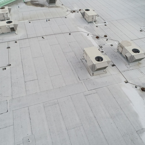 roof inspection of a/c units