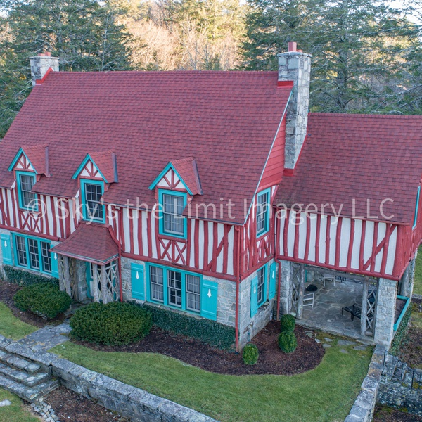 Unique Red House