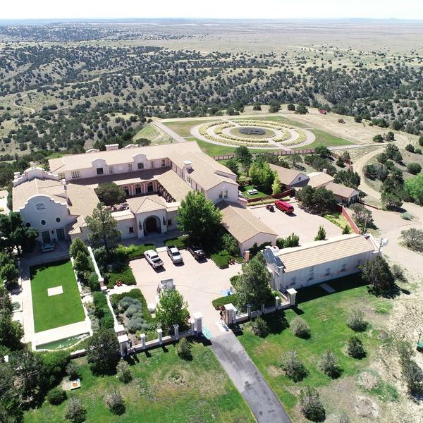 Jeffrey Epstein New Mexico Ranch House