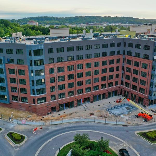 New Apartment Building Construction
