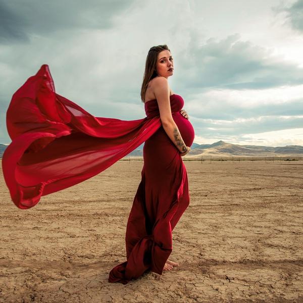 Scogland maternity shoot photo 2