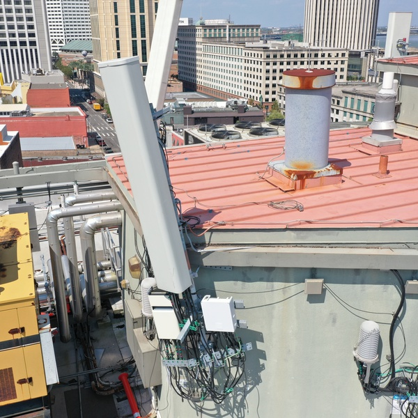 Cellular Rooftop Inspection