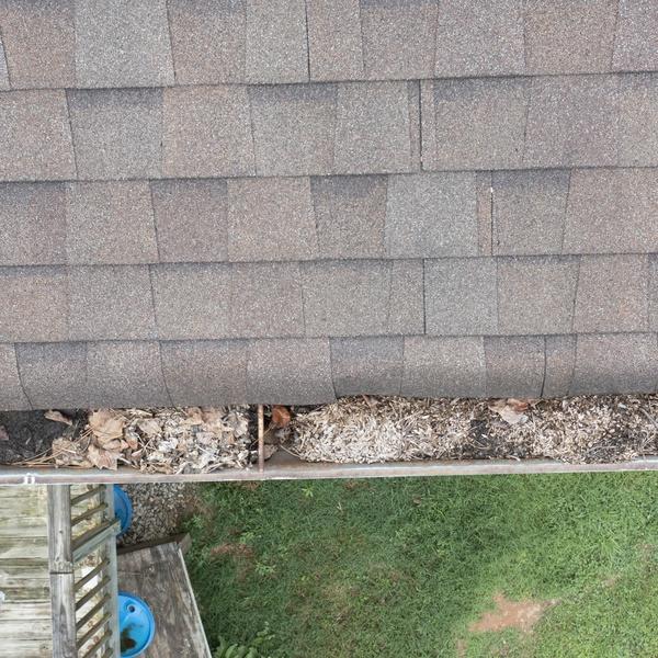 Roof Inspection Closeup