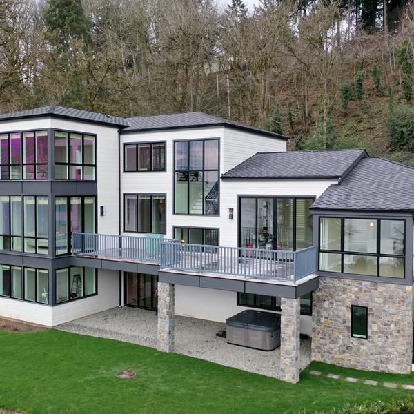 Luxury Property Front Elevation