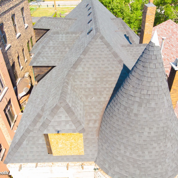 Grey Stone - Roof 2