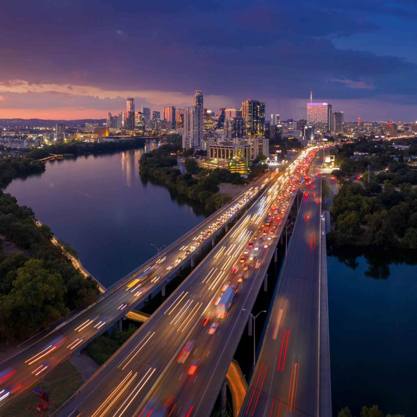 Downtown Austin footage for FOX-TV's prime time series 9-1-1: Lone Star