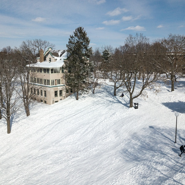 Wirth House Sled Hill Drone Aerial