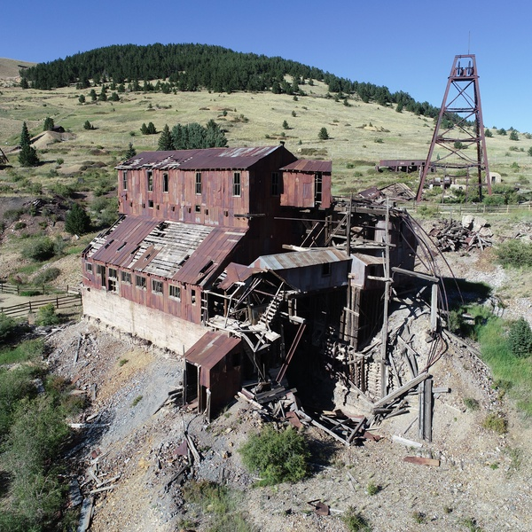 Vindicator Mine ruins, Victor CO