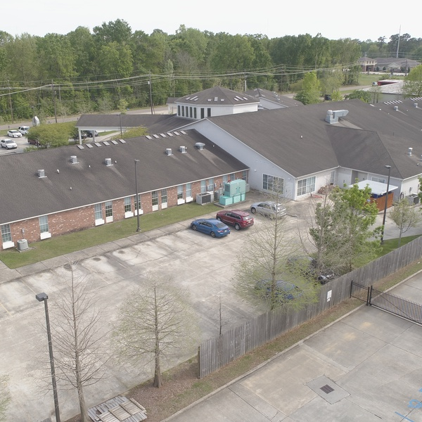 Promise Hospital Elevated Drone