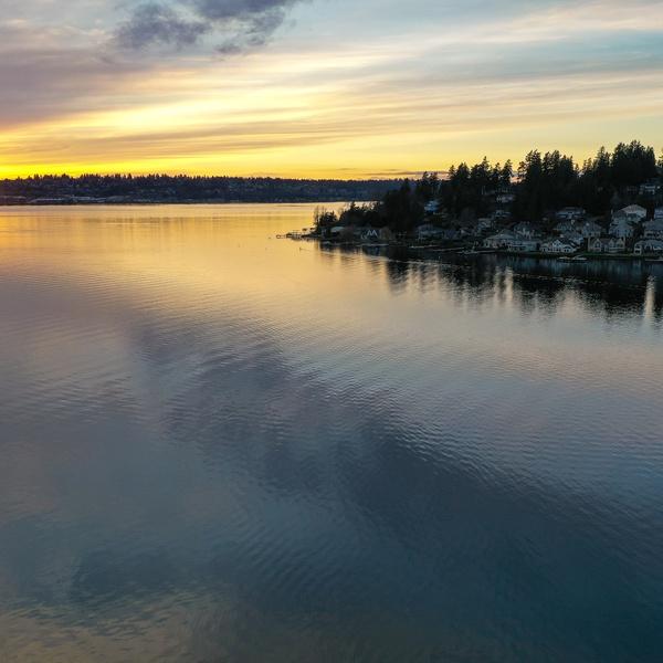 Juanita Bay Sunset Kirkland, WA