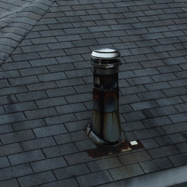 Roof Inspection of Flue Pipe