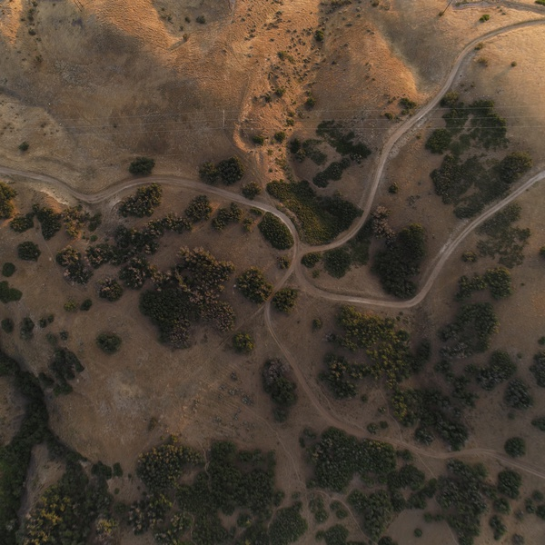 Trails From Overhead
