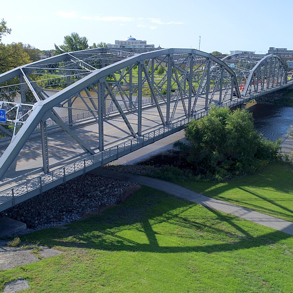 Sorlie Bridge Grand Forks North Dakota