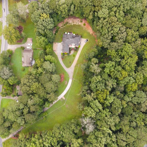 Real Estate Property Boundary Aerial  - Atlanta, GA