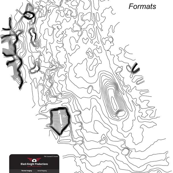 Contour Lines PDF or DXF