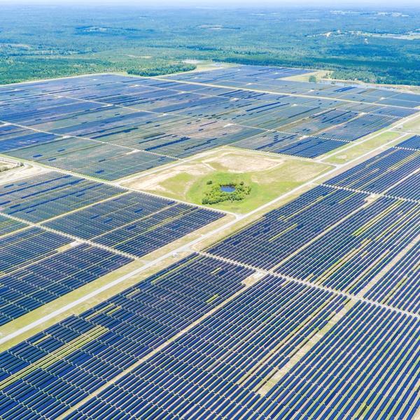 Massive Solar Array Field Inspection
