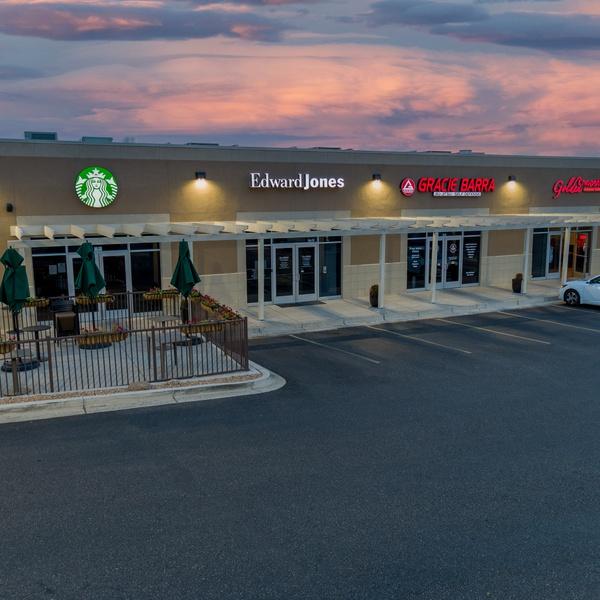 Twilight Shoot Commercial Building