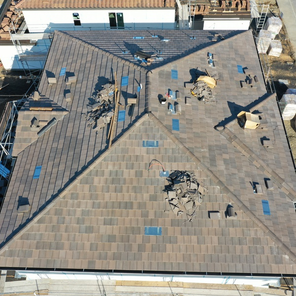 Tile Roof Project Stage