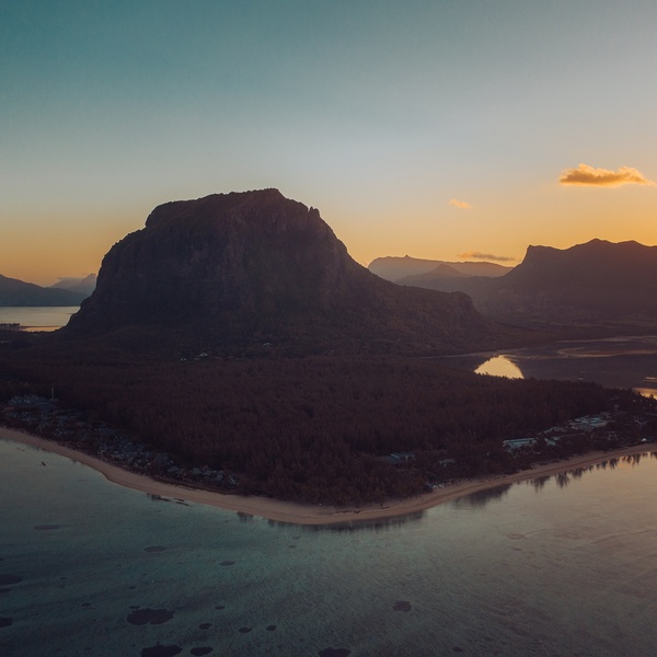 Le Morne at Sunrise