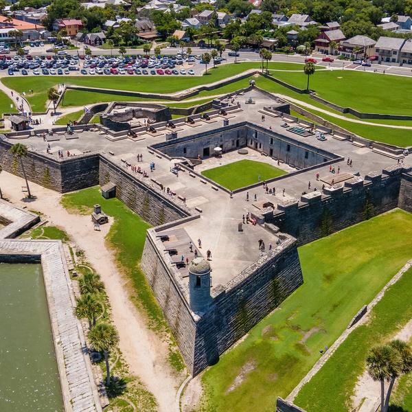 Castillo de San Marcos - St. Augustine, FL.