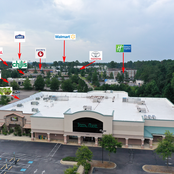 Commercial Real estate with added callouts