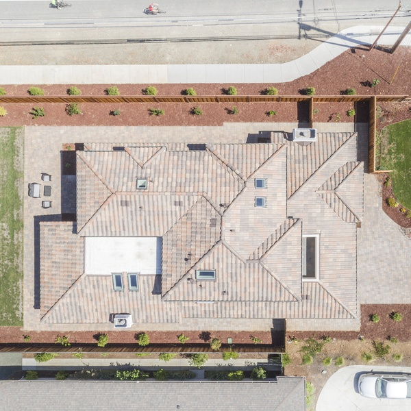 Aerial roof shot 1