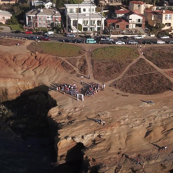 Wedding on Sunset Cliffs, San Diego, CA