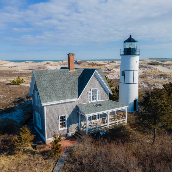 Lighthouse in Barnstable, Cape Cod, MA