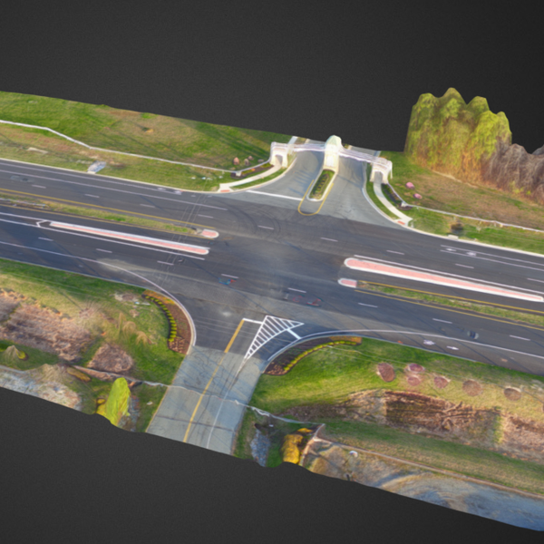 3D Modeling - Roadway Intersection
