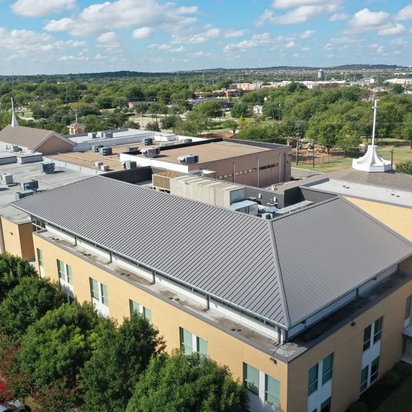 Mega Church Roof Inspection