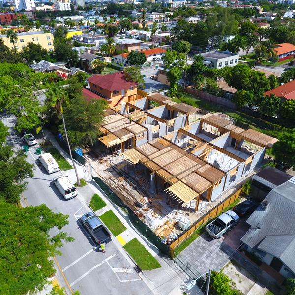 Construction Progression Images