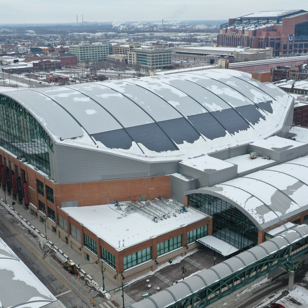 Bankers Life Fieldhouse - Renovation project