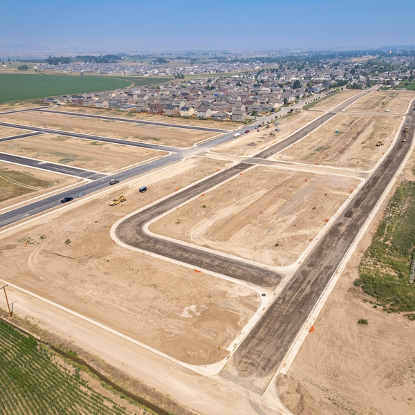 Northern Colorado construction site progression