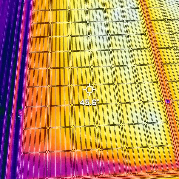 PV panel troubleshooting