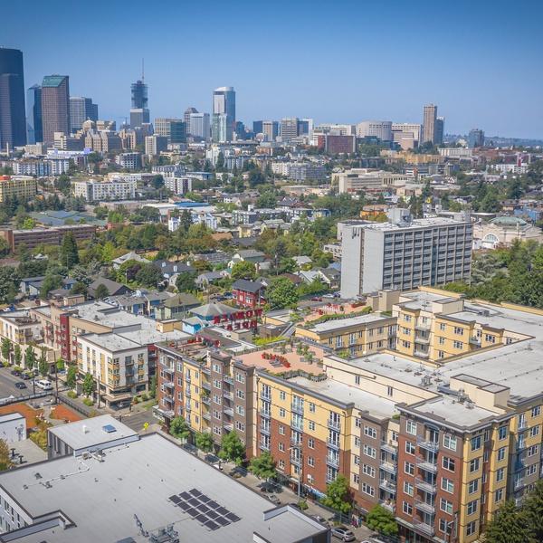 Apartment building promo in Seattle