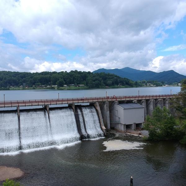 Lake Junaluska Damm