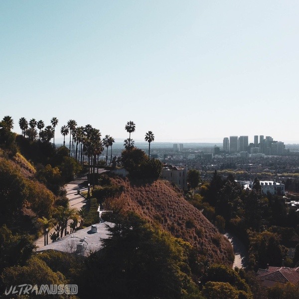Mansion in the Hollywood Hills overlooking Beverly Hills