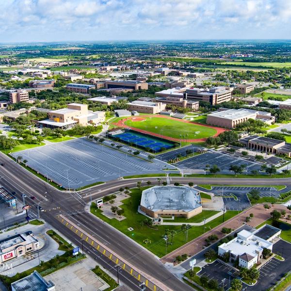 UTRGV Aerial of whole campus