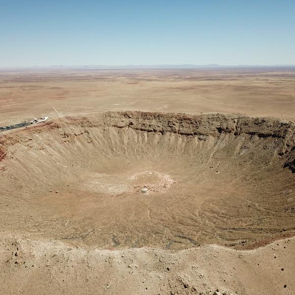 Winslow, AZ Crater Photos